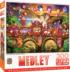 Carnivale Parade - Scratch and Dent Castles Jigsaw Puzzle