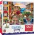 Italian Afternoon Street Scene Jigsaw Puzzle