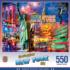 Greetings From New York City Landmarks / Monuments Jigsaw Puzzle