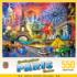 Greetings From Paris Landmarks / Monuments Jigsaw Puzzle