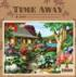Dragonfly Garden (Time Away) - Scratch and Dent Garden Jigsaw Puzzle