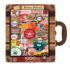 Retro Petrol (Suitcase Box) Nostalgic / Retro Jigsaw Puzzle
