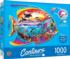 Tropical Fish Under The Sea Shaped Puzzle