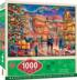 Village Square Christmas Jigsaw Puzzle