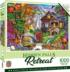 Hidden Falls Retreat Forest Jigsaw Puzzle
