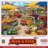 Market Square Farm Jigsaw Puzzle