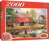 Reflections on Country Living Countryside Jigsaw Puzzle