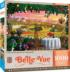 Tuscany Hills View Flowers Jigsaw Puzzle