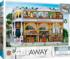 Bank & Brew - Scratch and Dent Street Scene Jigsaw Puzzle