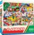 Family Game Night Nostalgic / Retro Jigsaw Puzzle