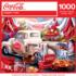 Coca-Cola Tailgate Vehicles Jigsaw Puzzle