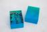 Gradient Puzzle Small (blue/green) Abstract Jigsaw Puzzle
