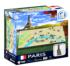 4D Mini Paris Maps / Geography Jigsaw Puzzle