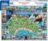 Mackinac Island, MI Maps / Geography Jigsaw Puzzle