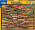 Pencil Collage Everyday Objects Jigsaw Puzzle