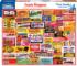 Candy Wrappers Food and Drink Jigsaw Puzzle