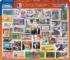 Classic Stamps Everyday Objects Jigsaw Puzzle