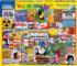 Life in the 60's Nostalgic / Retro Jigsaw Puzzle