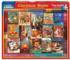 Christmas Books Nostalgic / Retro Jigsaw Puzzle
