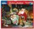 Santa's Naptime Cats Large Piece
