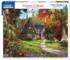 Autumn Cottage Fall Jigsaw Puzzle