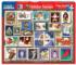 Holiday Stamps Christmas Jigsaw Puzzle