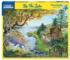 By The Lake Landscape Jigsaw Puzzle