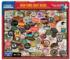 NY Craft Beers Collage Jigsaw Puzzle