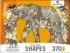 Elephant Jungle Animals Shaped Puzzle