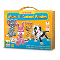 Match It! Make It-Animal Babies