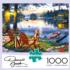 Twillight's Calm Fishing Jigsaw Puzzle