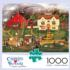 Fireside Companions - Scratch and Dent Americana & Folk Art Jigsaw Puzzle