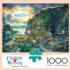 Moonlight & Roses Americana & Folk Art Jigsaw Puzzle