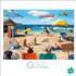 Dog Days of Summer Beach Jigsaw Puzzle