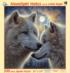 Moonlight Mates Wolves Jigsaw Puzzle