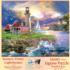 Sunset Point Lighthouse Lighthouses Jigsaw Puzzle