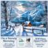 On a Snowy Morning Countryside Jigsaw Puzzle