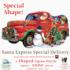 Santa Express Special Delivery Cars Shaped Puzzle