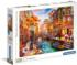 Sunset over Venice Boats Jigsaw Puzzle