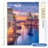 Lighting Venice Boats Jigsaw Puzzle