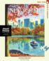 Central Park Row Graphics / Illustration Jigsaw Puzzle