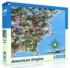 American Origins Maps / Geography Jigsaw Puzzle