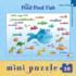 Pout Pout Swims Along (Mini) Fish Jigsaw Puzzle