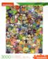 Nickelodeon Cast Cartoons Jigsaw Puzzle