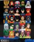 DC Comics Faces Super-heroes Jigsaw Puzzle