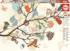 Floral Composition Birds Jigsaw Puzzle