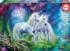 Unicorns in the Forest Fantasy Jigsaw Puzzle