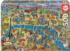 Paris Map Travel Jigsaw Puzzle