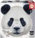 Panda Pandas Shaped Puzzle