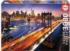 Manhattan At Sunset Skyline / Cityscape Jigsaw Puzzle